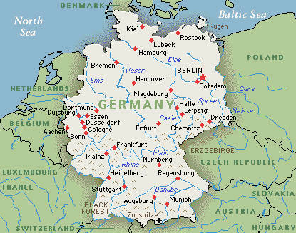 Germany - Habitat Worldmap : Habitat Worldmap
